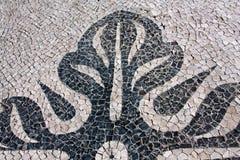 详细资料路面葡萄牙 免版税库存照片
