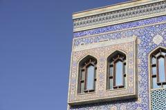 详细资料迪拜清真寺 免版税库存图片