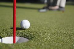 详细资料高尔夫球 免版税图库摄影