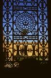 详细资料,铁器视窗,默罕默德・阿里清真寺  库存照片
