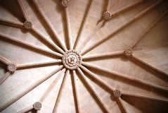 详细资料dos jeronimos里斯本mosteiro 免版税库存照片