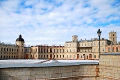 详细资料gatchina更加极大的宫殿 免版税库存照片