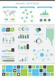 详细资料infographic例证。 免版税库存图片