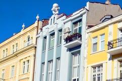 详述保加利亚复兴的建筑学 库存图片