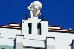 详述保加利亚复兴的建筑学 库存照片