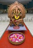 详述印第安婚礼 免版税库存照片