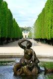 详述喷泉维也纳 库存图片