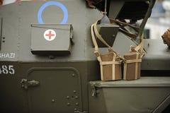 详述坦克ww2 免版税库存图片