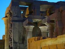详述埃及废墟 免版税库存图片