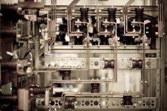 详述工业机械 免版税库存照片
