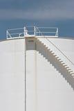 详述油料储存坦克 免版税库存图片