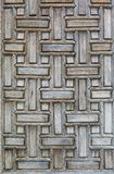 详述清真寺的门 库存图片