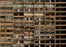 详述门廊摩天大楼视窗 库存图片