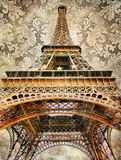 详述巴黎人 免版税库存照片