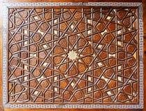 详述Suleymaniye清真寺的门 免版税库存图片