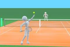 详细例证查出的符合网球白色 向量例证