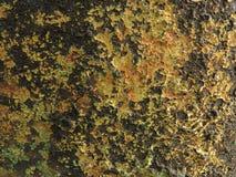 详细片段金属铁锈生锈的表面纹理 库存照片