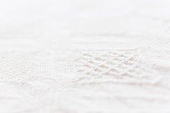 详细的棉花纹理 免版税库存图片