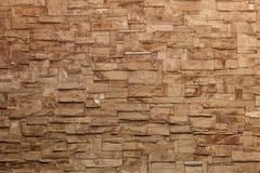 详细的砖石墙背景的片段 免版税库存图片