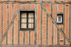 详细资料 中世纪大厦 浏览 法国 库存图片