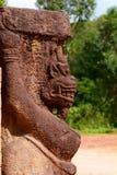 详细资料 印度寺庙 我的儿子 Quảng Nam省 越南 免版税库存照片