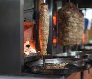 详细资料doner donner kebab土耳其 图库摄影