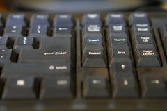 详细键盘 免版税库存照片