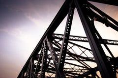 详细Waibaidu桥梁 免版税库存图片