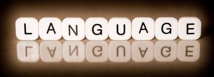 语言概念 免版税库存图片