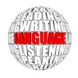 语言 图库摄影