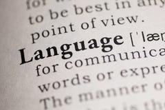 语言 免版税库存图片