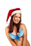 诱人的圣诞老人辅助工 库存图片