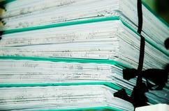 说明文件 免版税库存照片