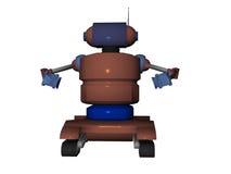说明的机器人 库存照片