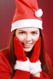 请求圣诞老人妇女 免版税库存图片