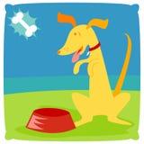 请求小狗 免版税库存图片