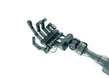 请求机器人 免版税库存图片