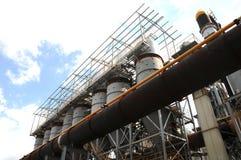 请求类型鼓风炉工厂的吸尘器 免版税库存图片