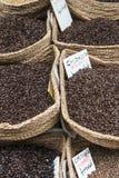 请求豆咖啡 免版税库存照片