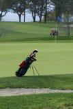请求路线高尔夫球 免版税库存图片