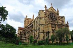 诸圣日大教堂Patthar Girja allahabad印度 免版税图库摄影