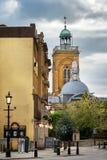 诸圣日教会北安普顿英国 库存图片