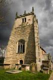 诸圣日教会, Terrington,北约克郡,英国 库存照片