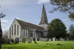 诸圣日教会, Woodchurch,肯特 库存图片