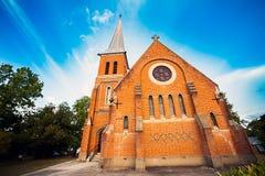 诸圣日英国国教的教堂Tumut澳大利亚 库存图片