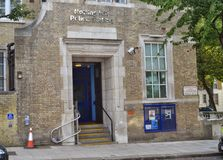 诺丁山伦敦警察局 免版税库存照片
