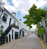 诺丁山在伦敦喵喵叫 免版税图库摄影