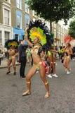 诺丁山狂欢节伦敦2012年 免版税图库摄影
