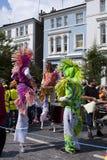诺丁山狂欢节 库存图片