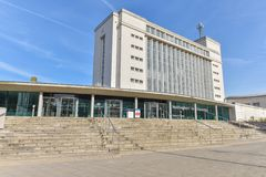 诺丁汉特伦特大学 免版税库存图片